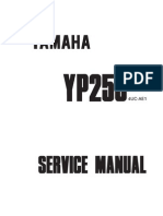 Yamaha YP250 Majesty Service Manual (1995-1999)