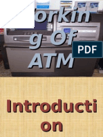 working, history of ATM