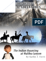 The Indian Haunting at Malibu Canyon - Book #6 of Freddie Brenner's Mystical Adventures
