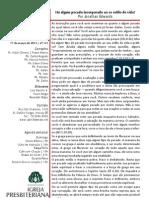 Boletim Informativo 17.03.13