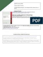 Applications of Self Psychology