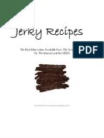 Deejays Jerky Recipes