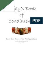 Djs Book of Condiments