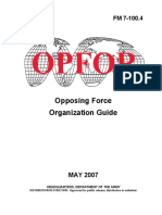 FM 7-100.4 OPFOR Opposing Force Organisation Guide