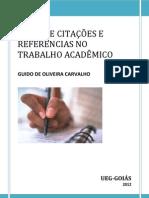 O Uso de Citações e Referências no Trabalho Acadêmico - Prof.Guido