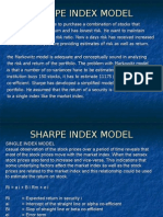 Portfolio Sharpe Index Model_2