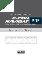 Hks Navigator Manual