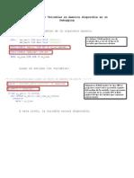 Como Extraer Variables en Memoria Disponible en Un Debugging