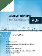 (3) Berpikir Sistem