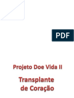 Projeto Doe Vida II