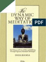 Dhiravamsa-The Dynamic Way of Meditation
