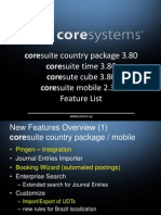 What's New in Country Package 3.80 for SAP Business One