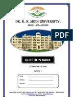 b Tech 2nd Sem Question Bank Volume 1
