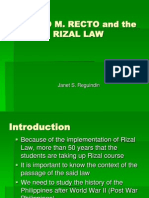 Rizal Law RA 1425