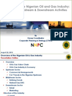 Overview of the Nigerian Oil and Gas Industry
