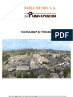 Tecnologia e Processos Do Cobre