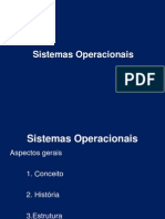 Sistemas Operacionais - 01