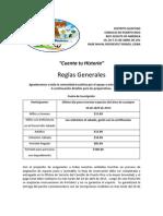 Reglas Generales Guaitioree 2013