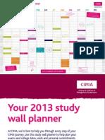 CIMA Study Planner 2013 Web