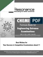 Gyan-Sutra-Chemistry-Formula-Booklet IIT JEE , AIEEE