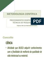 METODOLOGIA CIENTÍFICA - FAB