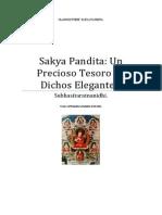 Sakya Pandita Kunga Gyaltsen Un Precioso Tesoro de Dichos Elegantes