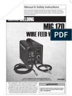 Chicago Electric 170 Amp Welder Manual