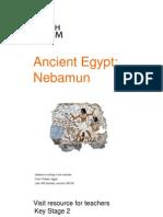 Visit Egypt Nebamun KS2