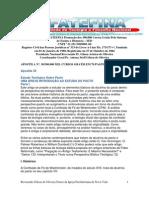 Apostila 30 - Estudo teológico Sobre  o Pacto