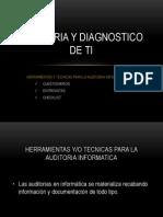 Auditoria y Diagnostico de Ti