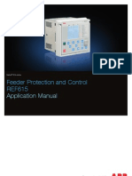 FeederProtectionControl ABB AppManual Ref615 Appl 756378 Enk