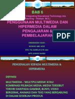 6-Penggunaan Multimedia Dan HM Dalam P&P