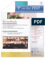 Hill U.P. Church March 2013 Newsletter
