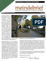 Gemeindebrief 2012 09 Herbst - 8. Ausgabe