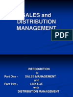 Sales and Distribution Management- Introduction