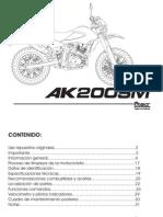 Manual Akt 200sm 72