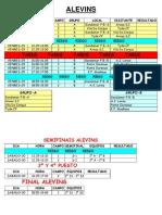 Calendario Torneo Semana Santa 2013