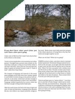 Fieldnotes from Nameless Creek