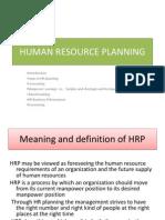 Planning HR