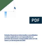 Estados Financieros Intermedios BBVA