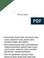 8. Bahasa Badan