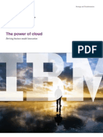 Ibm-1134-The Power of Cloud