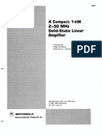 AR-347 a Compact 1-KW 2-50MHZ Solid-state Linear Amplifier