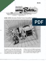 EB-63 140W (PEP) Amateur Radio Linear Amplifier 2-30MHz
