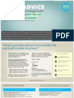 Good Advice for a Better Life and Better Business - from 27 Speakers, Authors & Thought Leaders