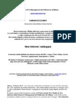 Confronto Old Media-New Media School of Management del Politecnico di Milano