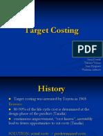 Target Costing Presentation Final
