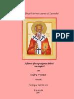 Aflarea şi respingerea falsei cunoaşteri sau contra ereziilor vol. II - Sf. Irineu al Lyonului