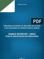 Indicadores de Saúde do PMAQ-AB