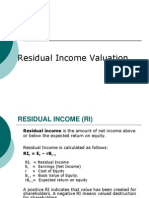 residual income valuation_urp.ppt